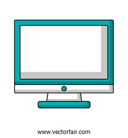 monitor computer device technology image