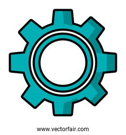 gear setting work cooperation image