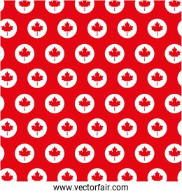 canadian flag buttons decoration background