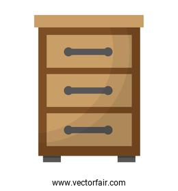 wooden furniture drawers bedside table