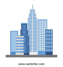 buildings structures isolated icon