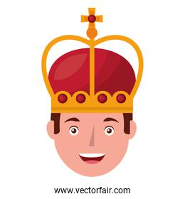 head king with crown