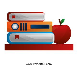 library books with apple