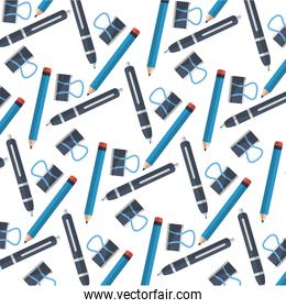 office supplies icon pattern
