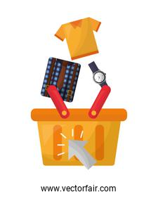 shopping cart accessory clothes buy online