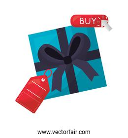 gift box price tag buy online