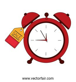 alarm clock hour tag price commerce