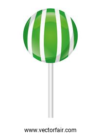 striped sweet lollipop confectionery