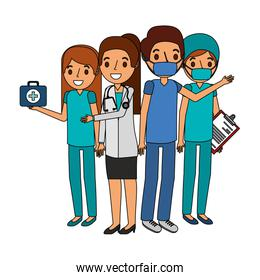 medical professional people  group