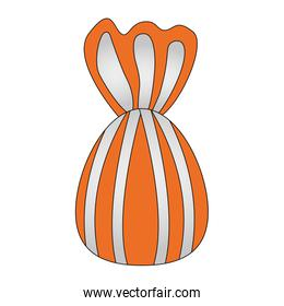 wrapped sweet candy flavor icon