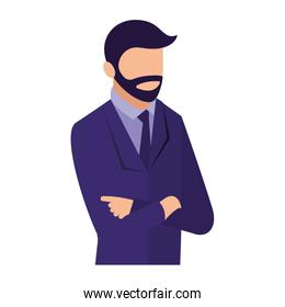 businessman portrait with arms folded business