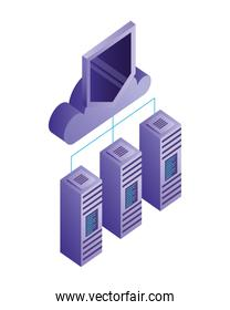 database server cloud computing storage protection connection