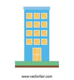 building structure isolated icon
