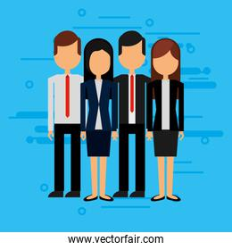 business people avatar character