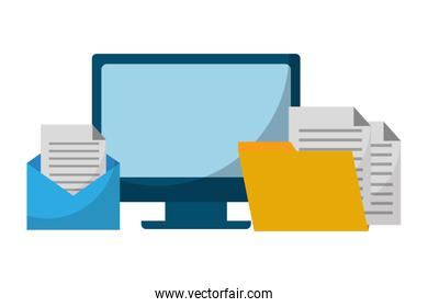 data protection computer email folder
