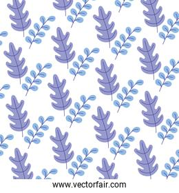 floral nature leaves foliage botanical pattern