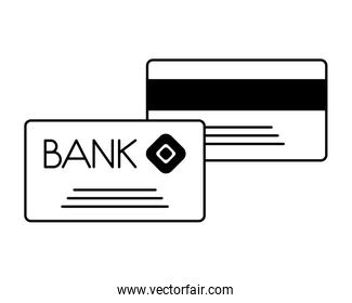 bank cards credit and debit payment