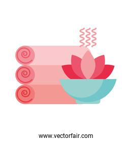 towels aromatherapy flowers spa healthy