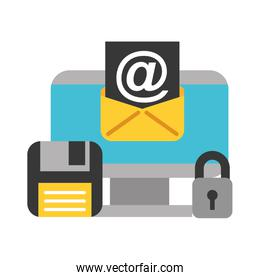 computer email floppy disk big data security
