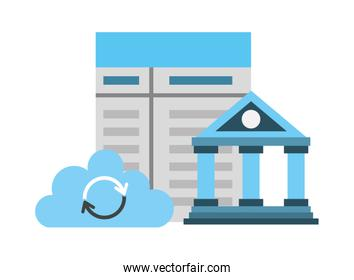 bank contract document cloud computing fintech