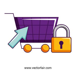 online shopping cart security click