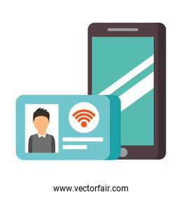 smartphone id card mobile nfc payment