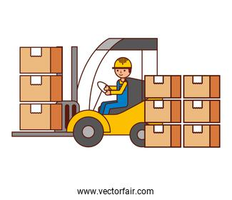 warehouse logistic delivery