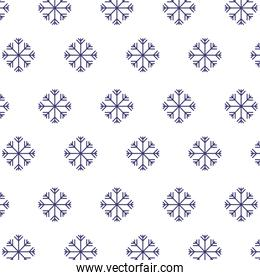 snowflakes winter season background