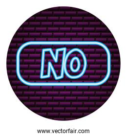 no lettering neon video game