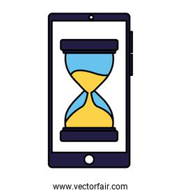 business smartphone clock time