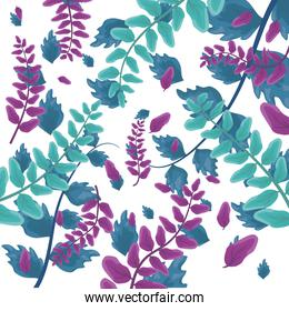 leaves nature branch foliage background