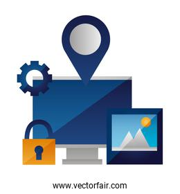 computer photo navigation pointer security
