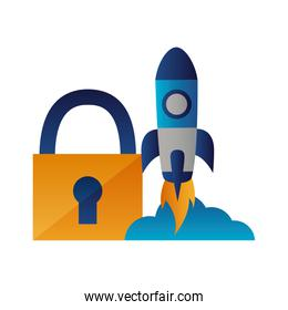 security rocket launching startup