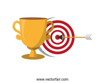 trophy and target arrow strategy
