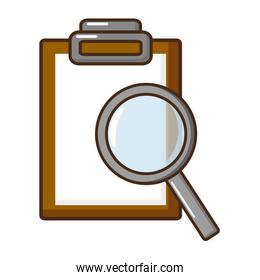 science magnifying glass report
