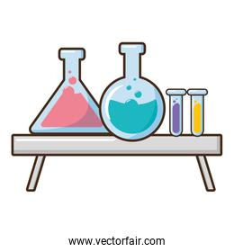 tes tubes laboratory science