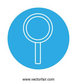 report magnifying glass medical science