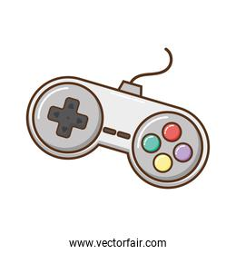 videogames control isolated icon