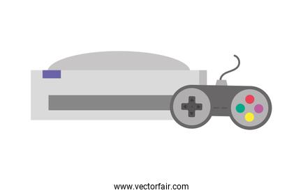videogame console isolated design