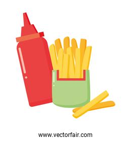 french fries sauce