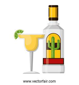 mexican bottle tequila cocktail