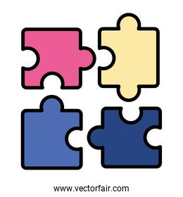 puzzles jigsaw pieces