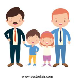 celebration fathers day characters