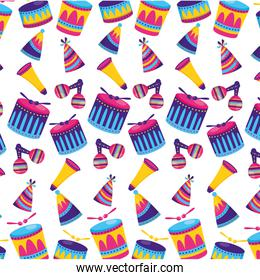 carnival drum background
