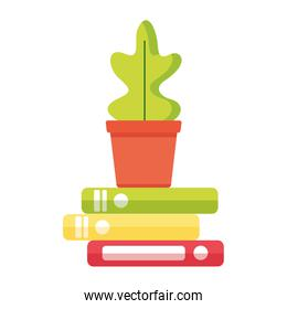 potted plant books