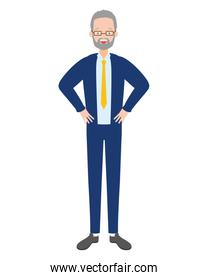 businessman character avatar