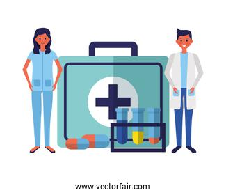medical doctors suitcase medicine