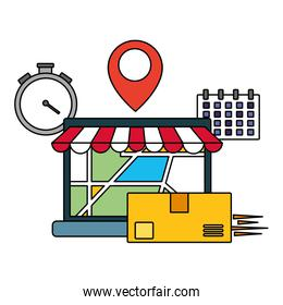 fast delivery business