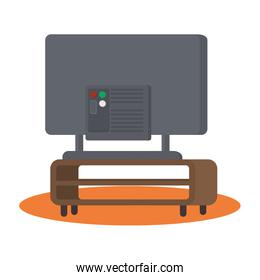Isolated tv device vector design