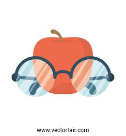 eyeglasses optical accessory with apple